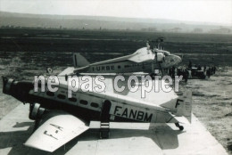 LOT 0147 13 - Marseille AEROPORT DE MARIGNANE AVION F-ANBM I-URBE AIR FRANCE  Tirage Photo Dimension 110mm X 150mm - Marignane