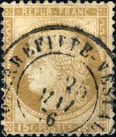 """FRANCE - 1873 Yv.55 Obl. CàD T.17 """" PIERREFITTE-NESTALAS / (63) """" - Peu Commun - TB - 1871-1875 Ceres"""