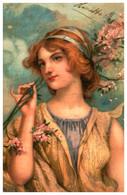 Illustration 109 Femme - 1900-1949