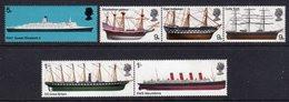 GB GREAT BRITAIN - 1969 BRITISH SHIPS SET (6V) FINE MNH ** SG 778-783 - Ongebruikt
