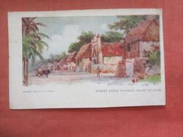 Street Scene In Assan  Island Of Guam    Ref  4624 - Guam