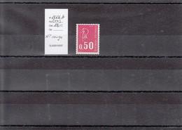 Variété - YT 1664 B (**) N° Rouge - Variedades: 1970-79 Nuevos