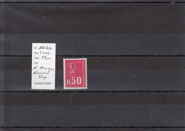 Variété - YT 1664 C (**) N° Rouge - Gomme Tropicale - Variedades: 1970-79 Nuevos