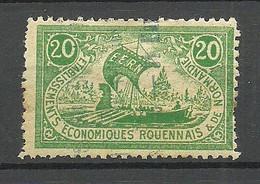 FRANCE Etablissements Economiques Rouennais & De Normandie Vignette Poster Stamp O - Otros