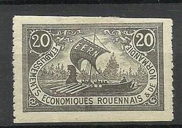 FRANCE Etablissements Economiques Rouennais & De Normandie Vignette Poster Stamp * - Otros