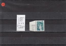Variété - YT 1966 C  (**) Pas De Phosphore - Gomme Brillante - Variedades: 1970-79 Nuevos