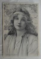 CPA 1901 M.M. Vienne - Illustrateur Henry Ryland - Portrait De Femme - Andere Illustrators
