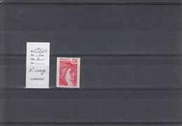 Variété - YT 1981 A  (**) N° Rouge - Variedades: 1970-79 Nuevos
