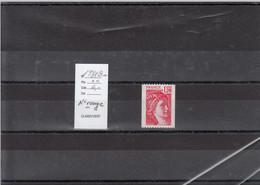 Variété - YT 1981 B A  (**) N° Rouge - Variedades: 1970-79 Nuevos