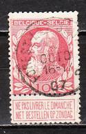 74  Grosse Barbe - Bonne Valeur - Oblit. Centrale FOREST-LEZ-BRUXELLES - LOOK!!!! - 1905 Thick Beard