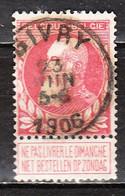 74  Grosse Barbe - Bonne Valeur - Oblit. Centrale GIVRY - LOOK!!!! - 1905 Thick Beard