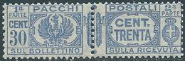 1927-32 REGNO PACCHI POSTALI 30 CENT MNH ** - CZ22-7 - Paketmarken
