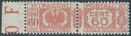1927-32 REGNO PACCHI POSTALI 60 CENT MNH ** - CZ19-2 - Paketmarken