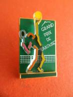 Pins Email Sport Tennis Grand Prix De TOULOUSE   - Signé Arthus Bertrand - Double Moule - Tennis