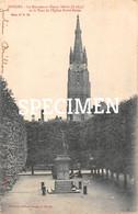 Le Monument Simon Stevin Et La Tour De L'Eglise N.D. - Bruges - Brugge - Brugge