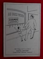CPA  Pubicité Cosmos Lemonade/ Cie Générale Des Eaux Minérales Et Gazeuses - Bruxelles - Pubblicitari