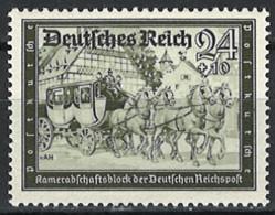 Deutsches Reich 1939. Mi.Nr. 712, *, MH - Ungebraucht