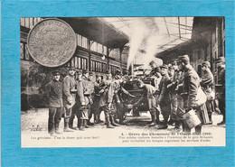 Évènement. Grève Des Cheminots De L'Ouest-État 1910 Une Cuisine Roulante Installée à L'intérieur De La Gare Saint-Lazare - Strikes
