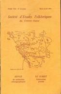 Société D'études Folkloriques Du Centre-Ouest Tome VIII : 2e Livraison De Collectif (1974) - Other