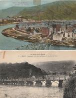 REVIN - 2 CPA : La Bouverie - Nouveau Pont Sur La Meuse - Revin