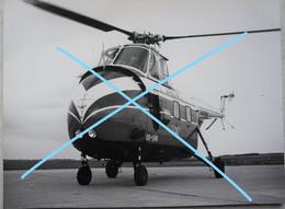 Photo SABENA MELSBROEK Hélicoptère Helicopter SIKORSKY S 55 Circa 1955 OO-SHB Avion Aviation Vliegtuig - Aviation