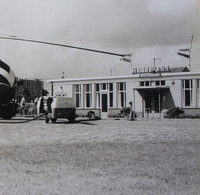 Photo SABENA Hélicoptère Helicopter SIKORSKY S 58 Circa 1957 ROTTERDAM Heliport Avion Aviation Vliegtuig - Aviation