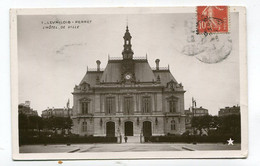 CP 92 / LEVALLOIS PERRET  Hotel De Ville    A   VOIR   !!!! - Levallois Perret