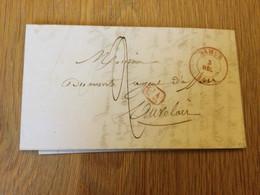 Belgique : Précurseur De Namur (3/12/1845) + Cachets CA Et De Spy - 1830-1849 (Belgica Independiente)