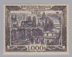 PA  29 Fond Blanc (Vue De Paris), Neuf **. - 1927-1959 Mint/hinged