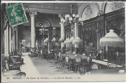 CPA 17200 ROYAN : Casino Foncillon - Salle De Baccara   1912 - La Tremblade