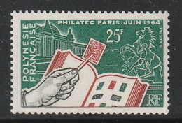 POLYNESIE - N°26 ** (1964) Philatec - Ungebraucht
