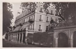 """Carte-Photo 9x14 . JORDANIE . AMMAN . """" Le Grand Hôtel 1929 """" En Manuscrit Au Dos - Sonstige"""
