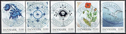 DENMARK #  FROM 2016  STAMPWORLD 1776-80 - Used Stamps