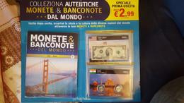 Monete E Banconote Dal Mondo - Fascicolo N° 1 Completo!!!!!! INTROVABILE!!!!!! - Italian