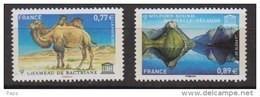 2011-N° 151/152** CHAMEAU DE BACTRIANE ET NOUVELLE ZELANDE - Mint/Hinged