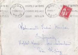 59 - NORD - DOUAI - KRAG / 1935   DREYFUSS N° DOU104  RRR - Mechanical Postmarks (Other)
