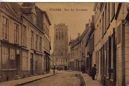 Belgique - FURNES - Rue Des Bouchers - Trés Ancienne - Zonder Classificatie