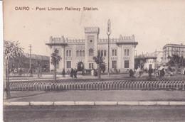 EGYPTE . LE CAIRE . Pont Limoun Railway Station (Extérieur Gare) - Cairo