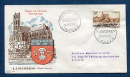 ⭐ France - Premier Jour - FDC - Limoges - 1955 ⭐ - 1950-1959