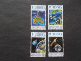 JERSEY   -  CEPT    N° 533  / 536  Année 1991   Neuf XX ( Voir Photo ) - 1991