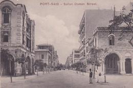 EGYPTE . PORT SAÏD . Sultan Osman Sreet - Port Said