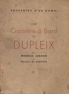 Une Croisière à Bord Du Dupleix De Maurice Lebrun (0) - History