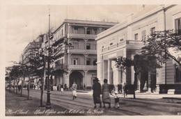 Cpsm 9x14 . EGYPTE . PORT SAÏD . Post Office And Hôtel De La Poste  (Edit Lehnert & Landrock) - Port Said
