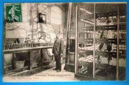 Carte Postale Ancienne - Mines De Noeux -Intérieur D'une Lampisterie - Mijnen