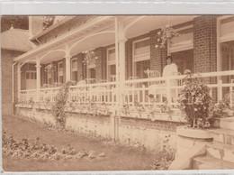 Dongelberg , La Terrasse De La Pouponnière ( Incourt , Jodoigne ) PHOTO , Colonie Des Enfants De L' ONE - Incourt