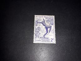 "A8MIX10 BELGIO 1955 TERZA BIENNALE DI SCULTURA AD ANVERSA 2 F. ""XO"" - Used Stamps"