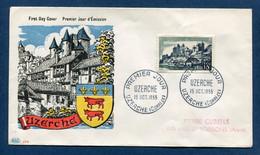 ⭐ France - Premier Jour - FDC - Uzerche - 1955 ⭐ - 1950-1959