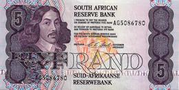 AFRIQUE DU SUD 1990  5 Rand - Neuf UNC - Suráfrica