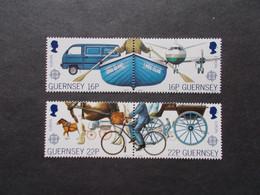 GUERNSEY   -  CEPT    N° 421  / 422   Année   1988   NEUF XX    ( Voir Photo ) - 1988