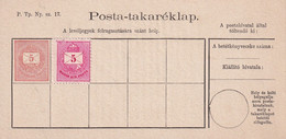 HONGRIE  ENTIER POSTAL/GANZSACHE/POSTAL STATIONARY/ GANZSACHE - Enteros Postales